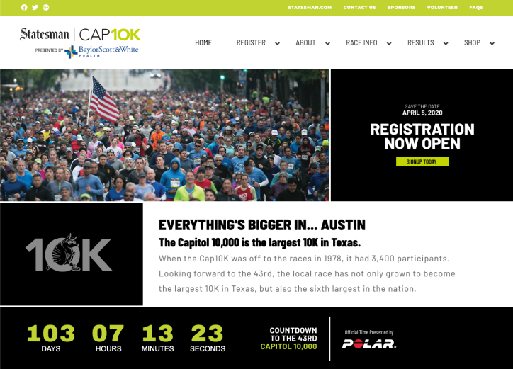 CAP10K website